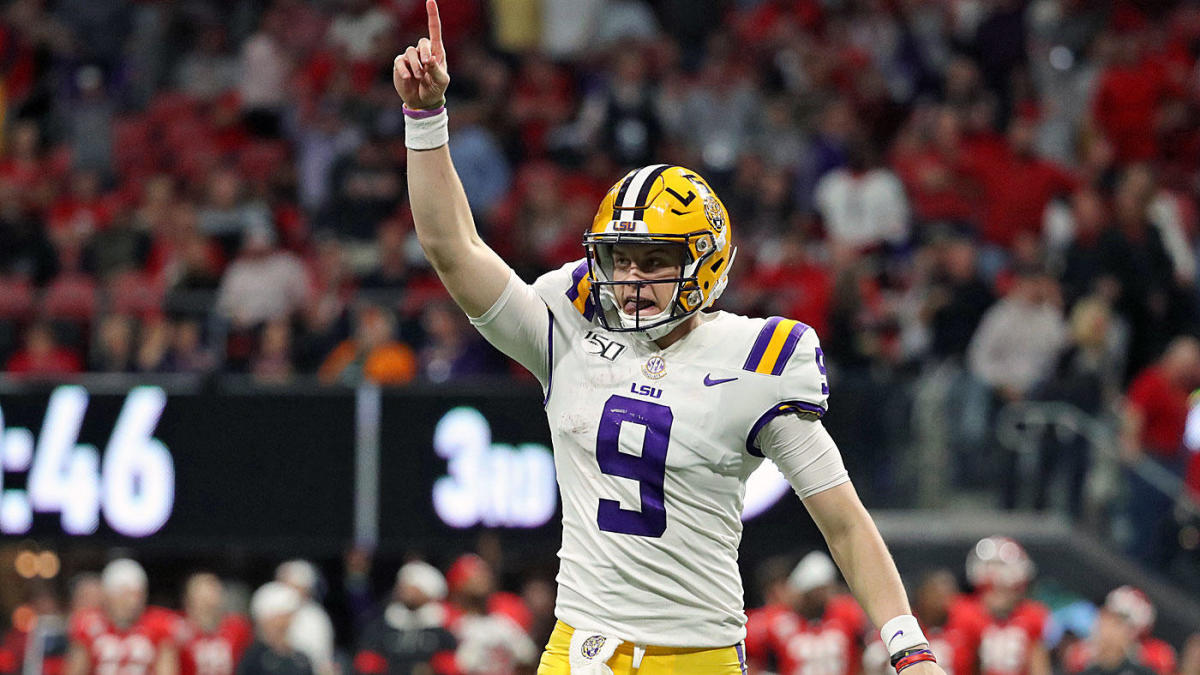 LSU final College Football Playoff Rankings