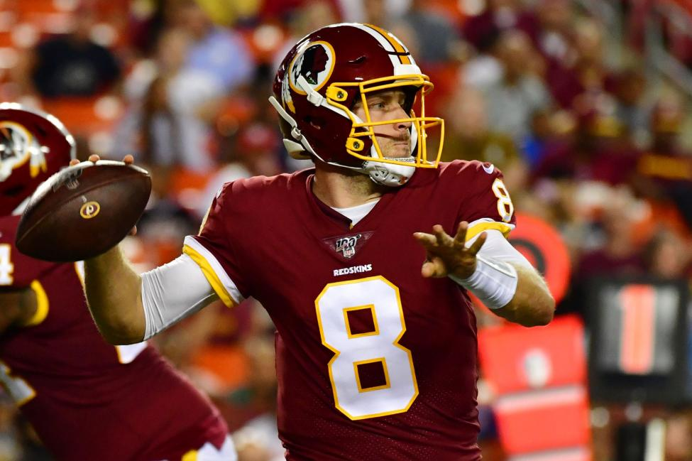 Washington quarterback Case Keenum Redskins-Cowboys