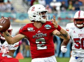 Florida Atlantic quarterback Chris Robison led the Owls to surprise bowl game winners, as the team pulled off a 52-28 rout of SMU in the Boca Raton Bowl on Saturday. (Image: USA Today Sports)