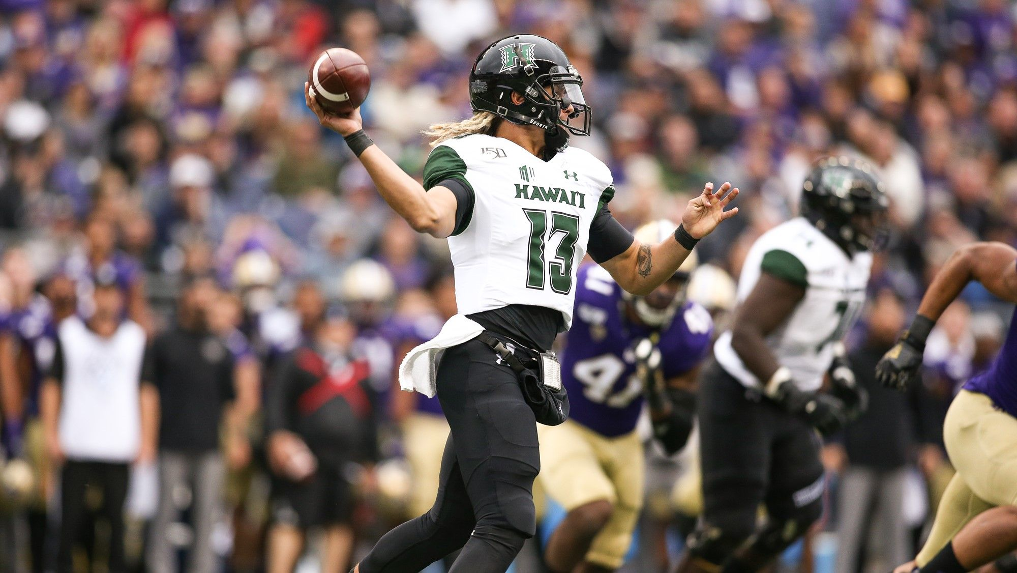 Hawaii quarterback Cole McDonald Hawaii Bowl