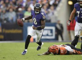 Stopping Baltimore quarterback Lamar Jackson in Thursday's Jets-Ravens game will be the top priority for New York. (Image: AP)
