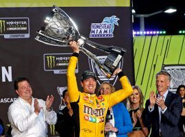 Kyle Busch won his second Monster Energy Cup Championship, and looks like he will have similar success in the  2020 NASCAR season. (Image: Getty)