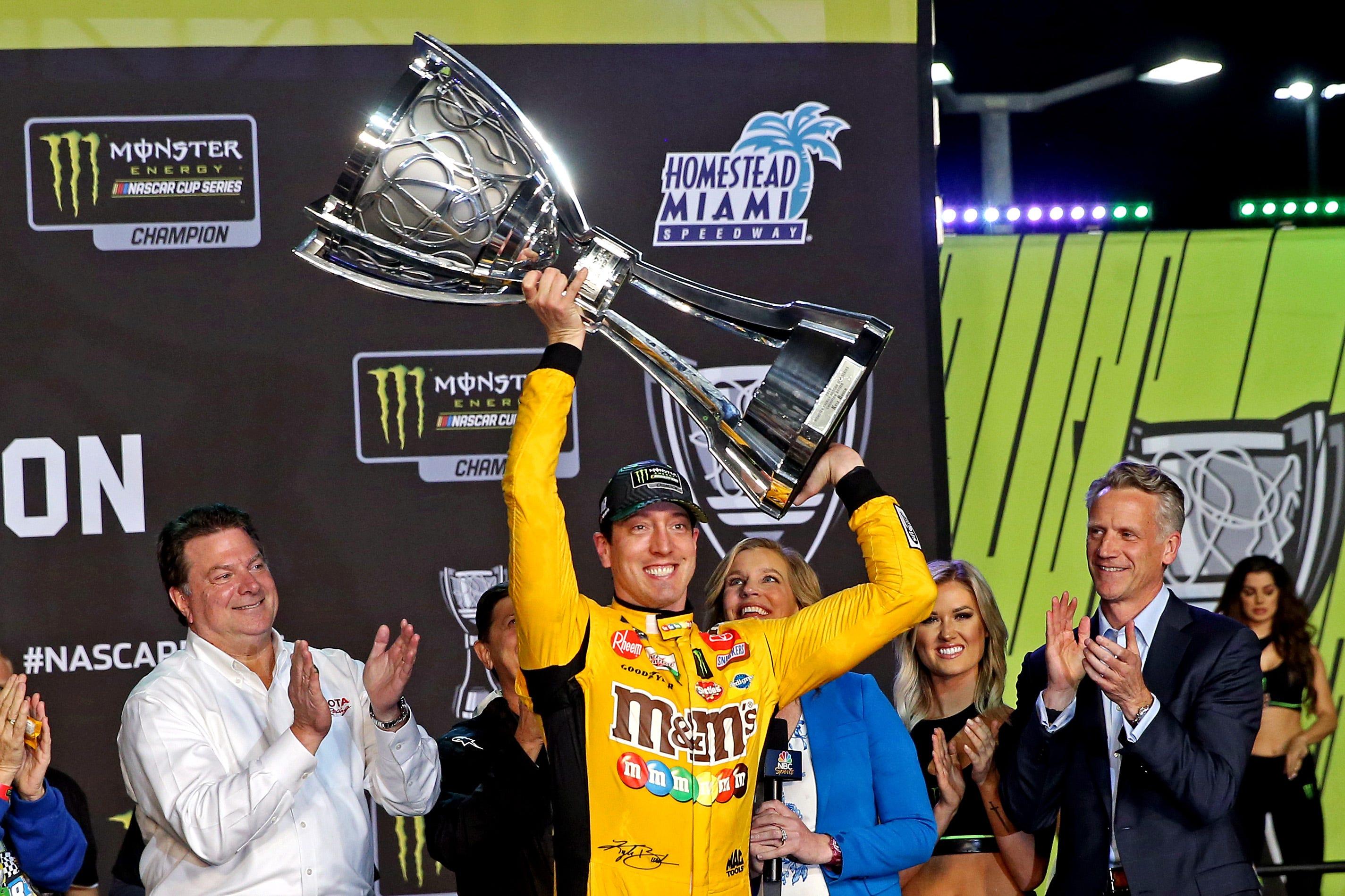 Kyle Busch, NASCAR champion
