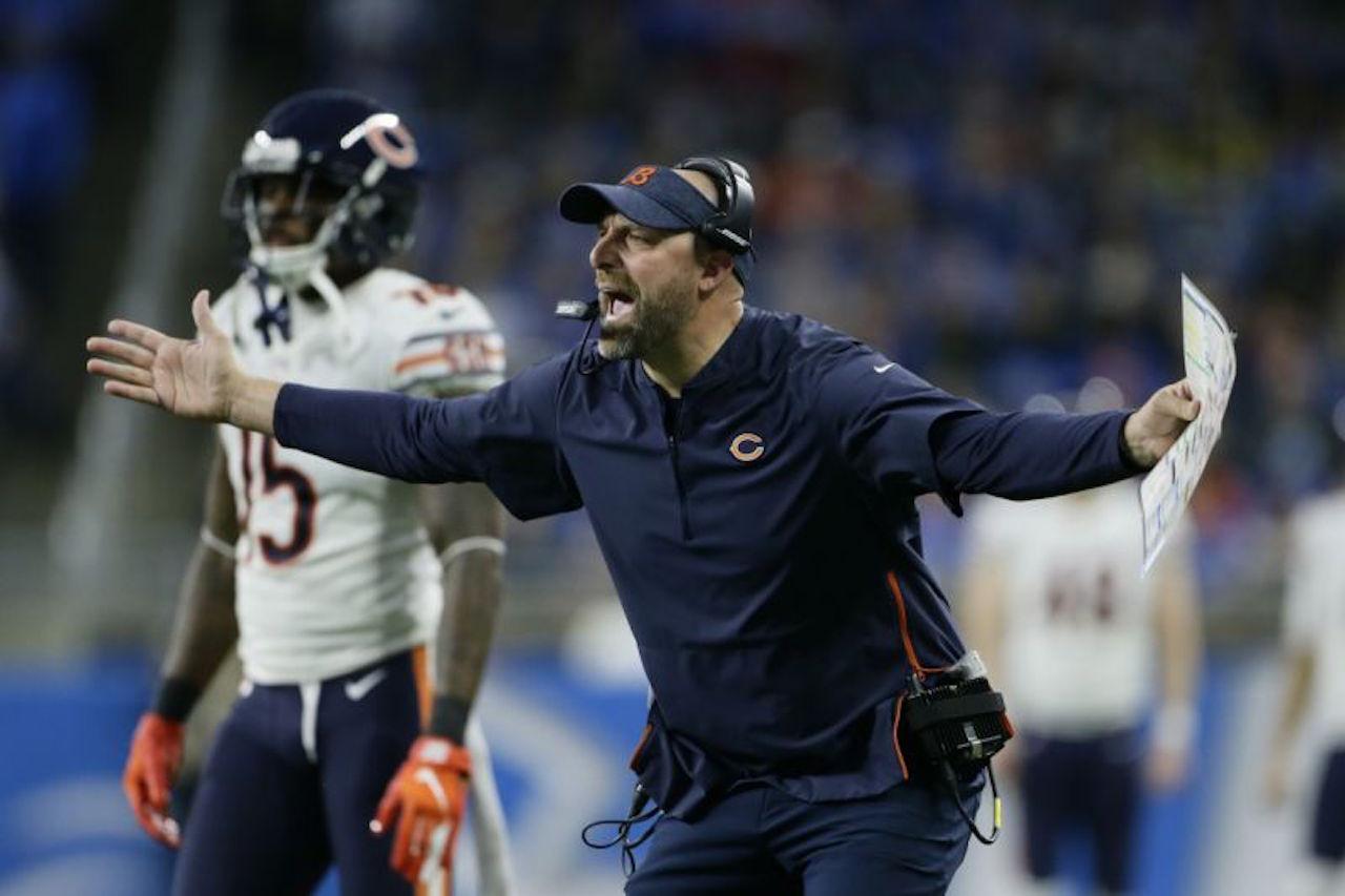 Chicago coach Matt Nagy
