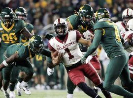 Oklahoma beat Baylor earlier in the season, but the two meet each other again in the Big 12 Championship, and the winner could get in the College Football Playoff. (Image: AP)