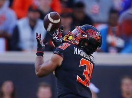 Oklahoma State will be without safety Kolby Harvell-Peel, for the team's college football bowl game on Friday at the Texas Bowl. (Image: Getty)