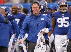 New York Giants' Pat Shurmur is one of many NFL coaches on the hot seat, and could be out of a job by the end of the season. (Image/ New York Post)