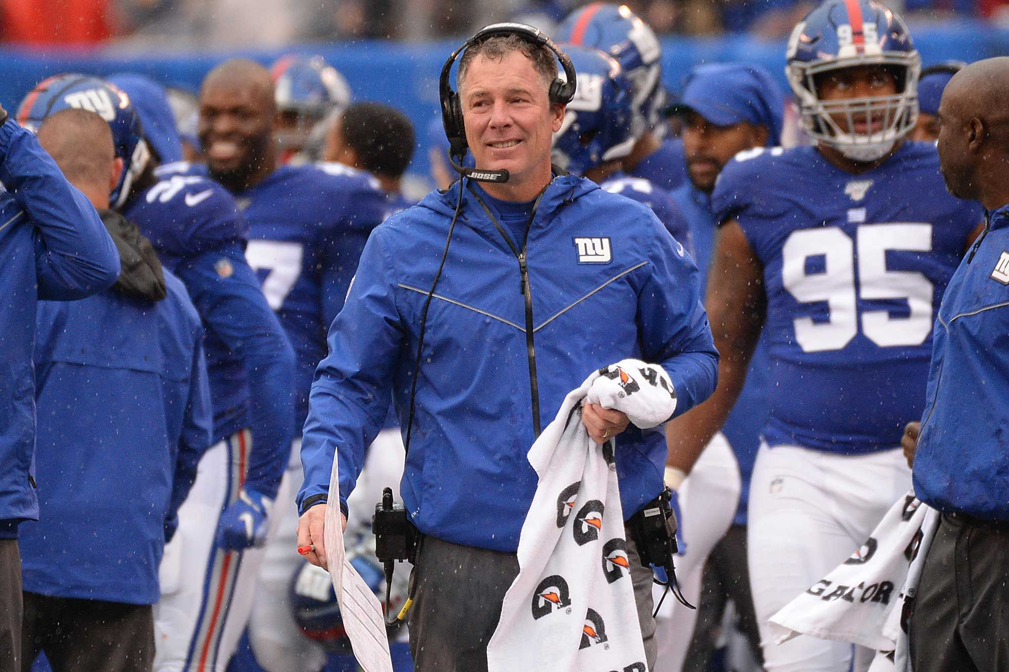 New York Giants head coach Pat Shurmur