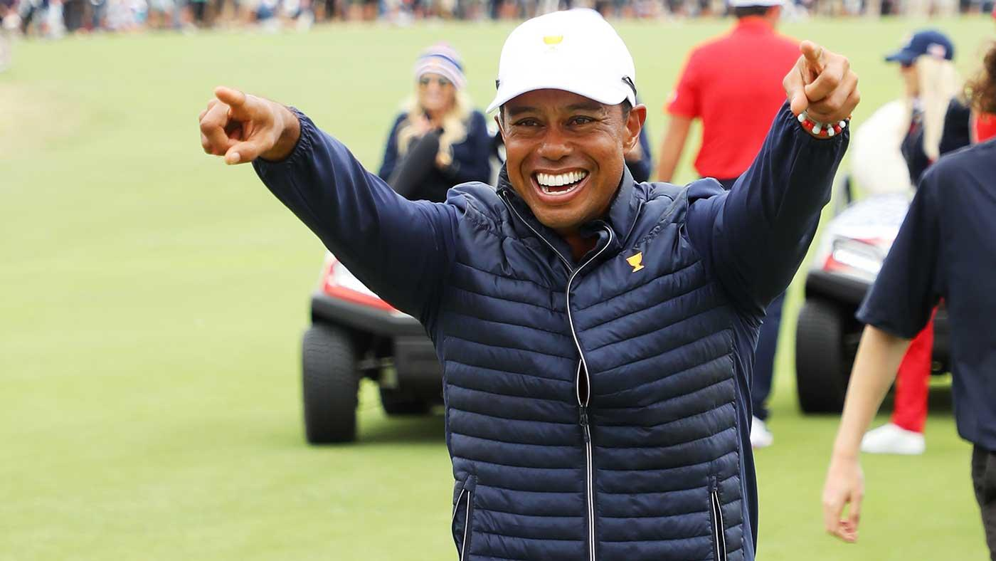 Presidents Cup captain Tiger Woods