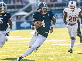 Georgia Southern quarterback Shai Werts will test Liberty in the Cure Bowl with both his arm and his legs. (Image: Georgia Southern Athletics)