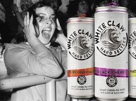 Shocking that White Claw did not jump into the college bowl branding game… yet. (Image: Reddit)