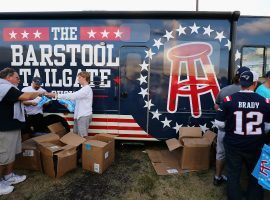 Penn National acquired a 36 percent stake in Barstool Sports for a package of cash and stock worth $163 million. (Image: Adam Glanzman/Getty)
