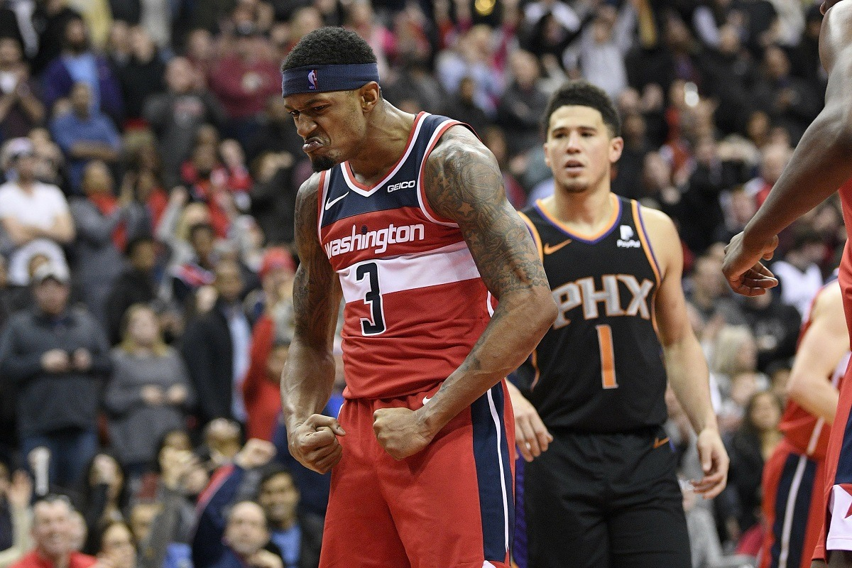 All-Star NBA Snub Devin Booker Bradley Beal Wizards Suns