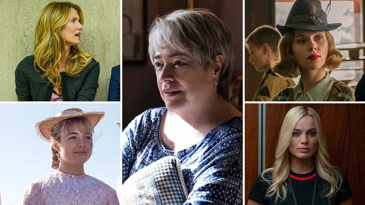 Best Supporting Actress Oscars 2020 Odds Florence Pugh, Laura Dern, Kathy Bates, Scarlett Johansson Margot Robbie