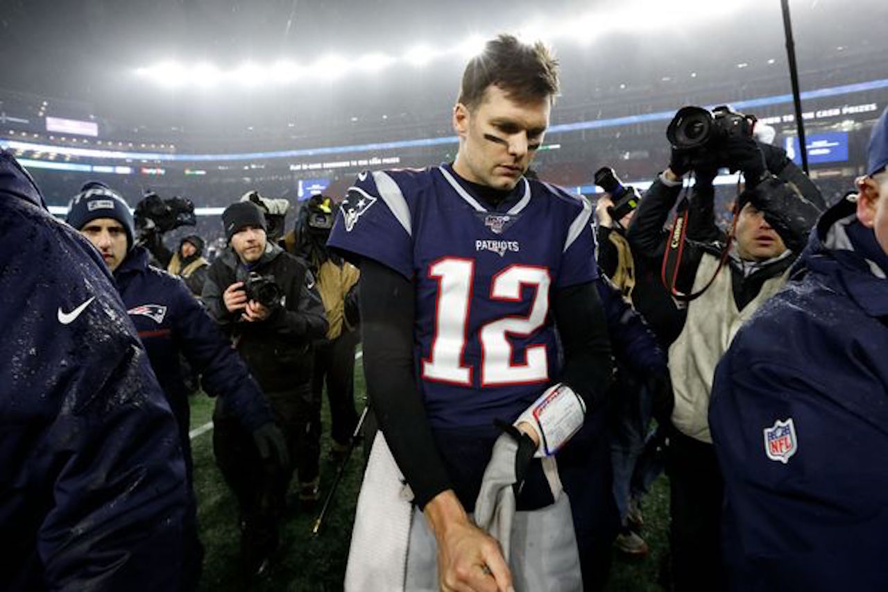 New England quarterback Tom Brady