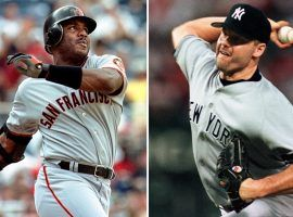 Slugger Barry Bonds and pitcher Roger Clemens have Hall of Fame numbers, but their link to steroid scandals have kept them out of Cooperstown. (Image: Getty)