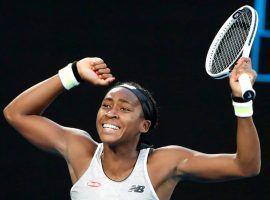 Coco Gauff beat Naomi Osaka to reach the fourth round of the 2020 Australian Open on Friday. (Image: EPA)