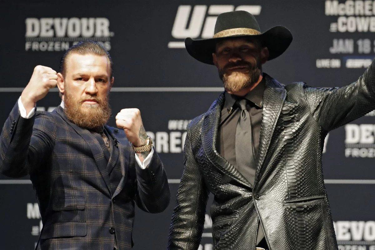 Conor McGregor Donald Cerrone UFC 246