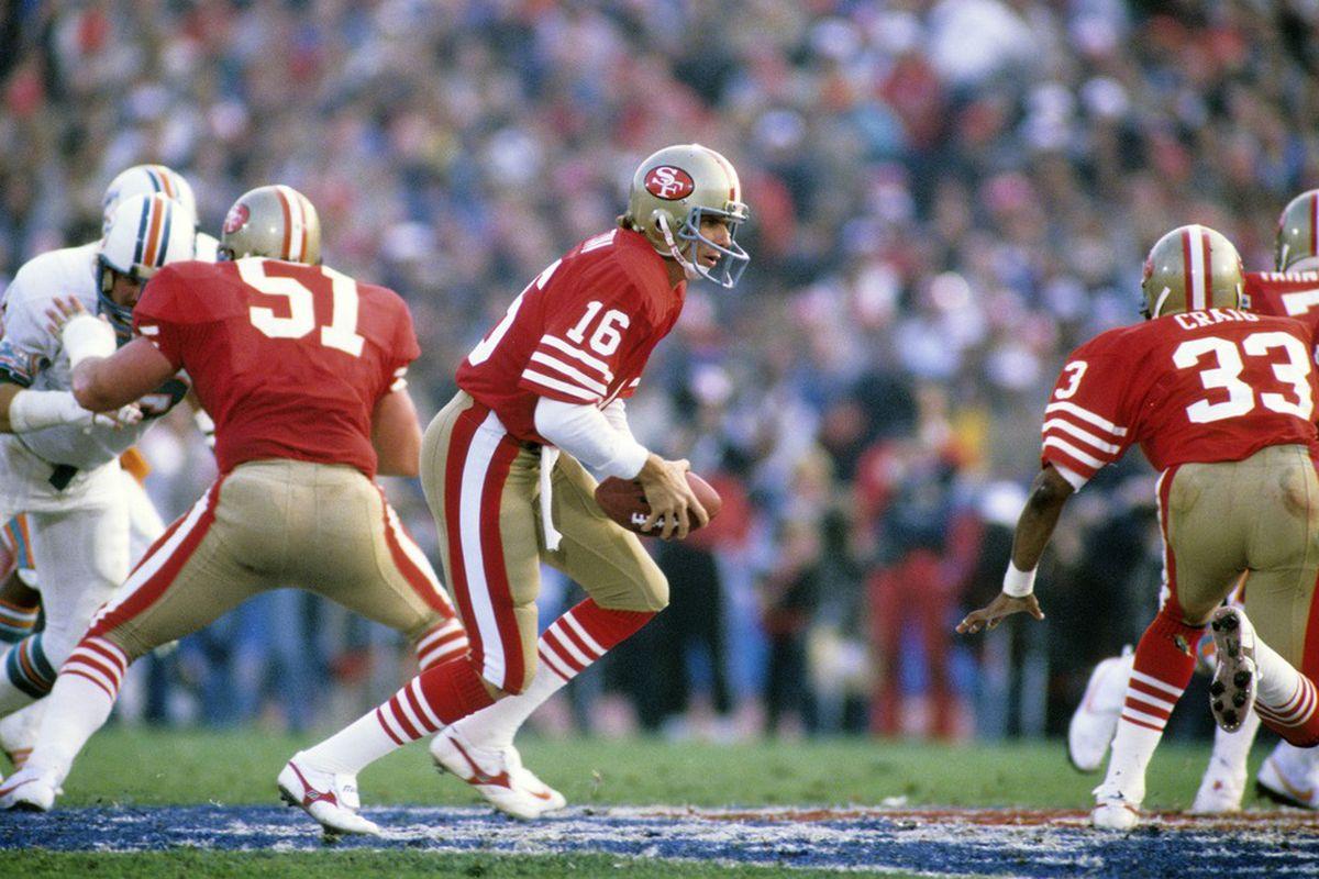 San Francisco 49ers Niners Super Bowl History Joe Montana Bill Walsh
