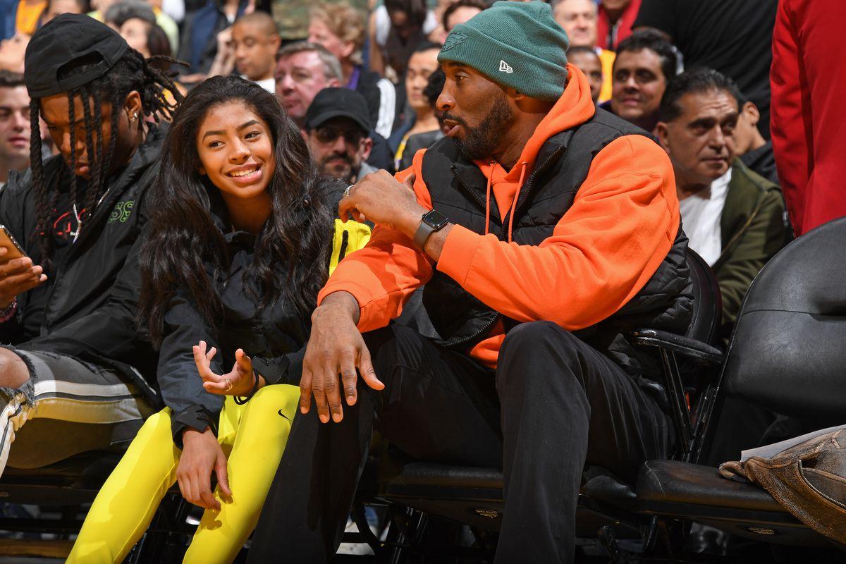 Kobe Bryant Gianna Gigi Bryant LA Lakers helicopter crash dead