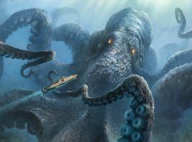 The mythical Kraken, an underwater sea monster, that terrorized ships for centuries. (Image: Flickr)