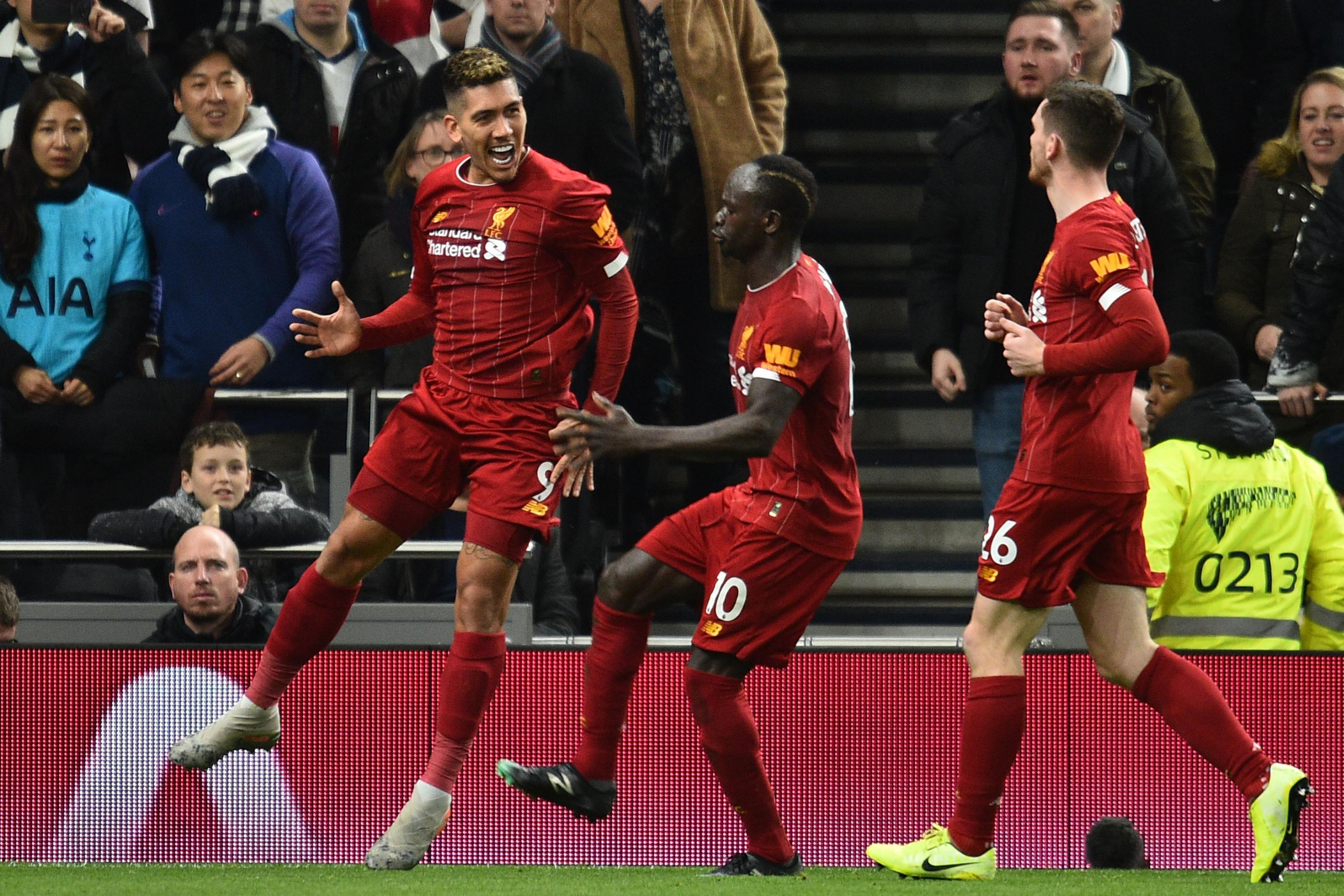 Liverpool Manchester United EPL
