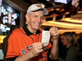 Jim 'Mattress Mack' McIngvale wagered $3.5 million on the Houston Astros to win the 2019 World Series at the Scarlet Pearl Casino in Biloxi, MS. (Image: AP)