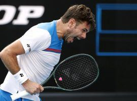 Stan Wawrinka came back to win a five-set thriller against Daniil Medvedev and reach the quarterfinals at the Australian Open. (Image: Issei Kato/Reuters)