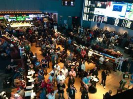 Sportsbooks across the United States should expect record levels of Super Bowl betting this year, according to an AGA survey. (Image: Ocean Resort Casino)