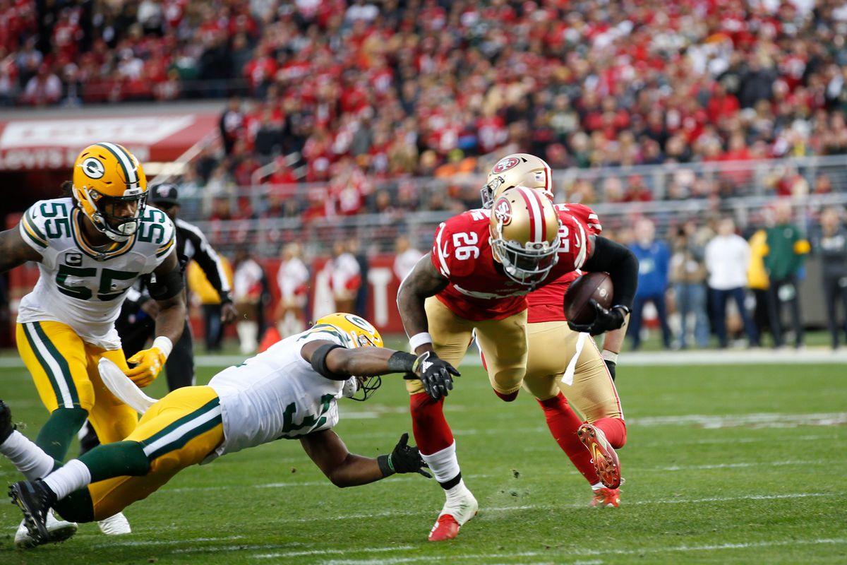 Tevin Coleman Injury Shoulder San Francisco Niners 49ers Super Bowl