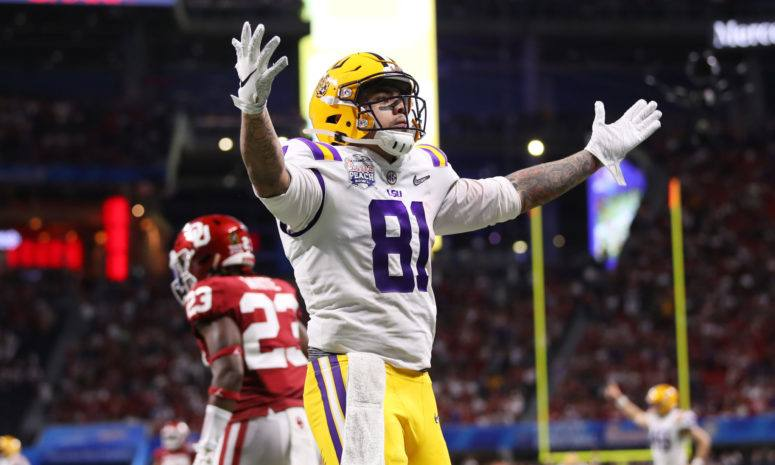 Thaddeus Moss, strong DFS value play in the college national championship