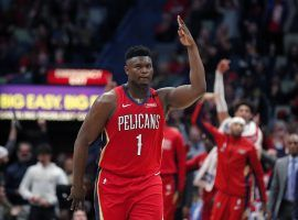 New Orleans Pelicans rookie Zion Williamson sparkled in his NBA debut against the San Antonio Spurs. (Image: Porter Lambert/Getty)