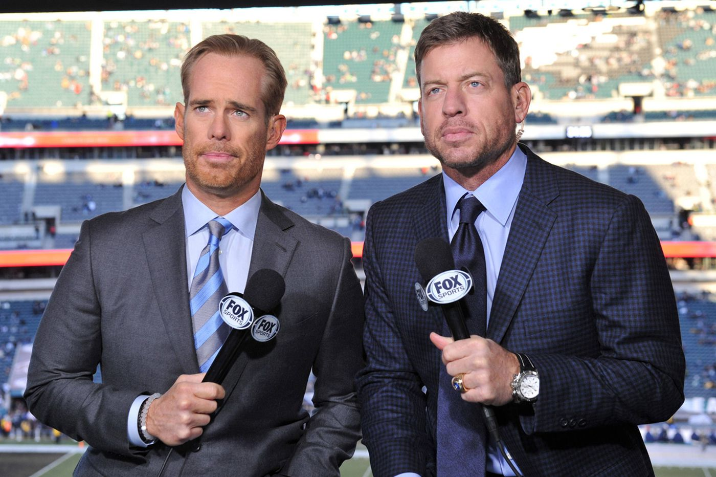 Joe Buck and Troy Aikman Super Bowl broadcast prop bets