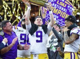 LSU quarterback Joe Burrow, who led the Tigers to the National Championship, is rumored to be heading to the Cincinnati Bengals in the April NFL Draft, but does he want to play there. (Image: Getty)