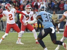 Kansas City punter Dustin Colquitt has 30/1 odds on a Super Bowl longshot prop bet that he will throw a pass. Like he did earlier in the season. (Image: KC Star)