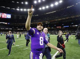 Minnesota quarterback Kirk Cousins leaves the Superdome after shocking New Orleans in overtime in a Wild Card Weekend playoff game. (Image: Getty)