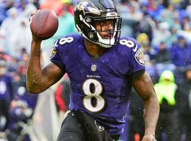 Baltimore quarterback Lamar Jackson will be in one of four AFC and NFC Divisional Playoff games this weekend. (Image: Tommy Gilligan)
