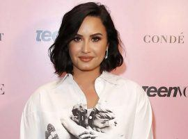 Singer Demi Lovato will sing the National Anthem at Super Bowl 54, and there are several prop bets available. (Image: Getty)