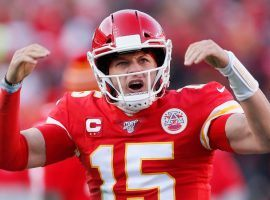 Kansas City quarterback Patrick Mahomes is the favorite to be named Super Bowl MVP. (Image: AP)