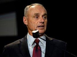 Baseball commissioner Rob Manfred said he would not strip the World Series titles away from Houston and Boston in the MLB cheating scandal. (Image: Getty)