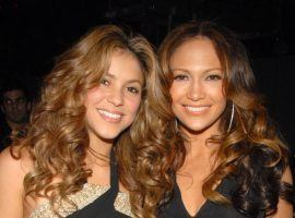 Shakira, left, and Jennifer Lopez will be performing at the Super Bowl halftime show, and there are several prop bets gamblers can make on their performances. (Image: Theo Wargo/WireImage for The Recording Academy)