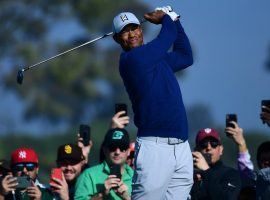 Tiger Woods didn't win last week's Farmers Insurance Open, but has jumped up to become the co-favorite to win the Masters.