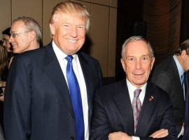 President Trump and one of his Democratic challengers, Michael Bloomberg, will have ads that are a part of the Super Bowl commercials. (Image: Getty)