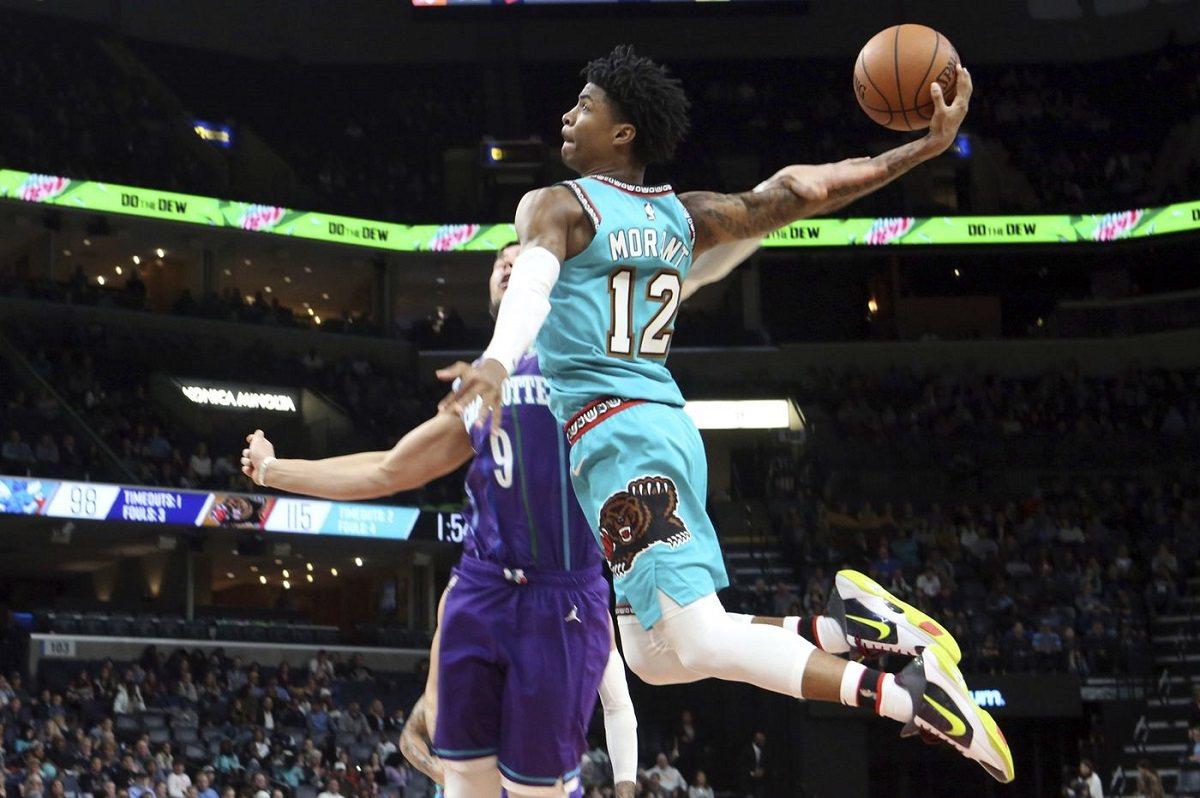NBA Weekend Ja Morant Memphis Grizzlies Zion Pelicans Indiana Pacers Raptors Toronto Winning Streak