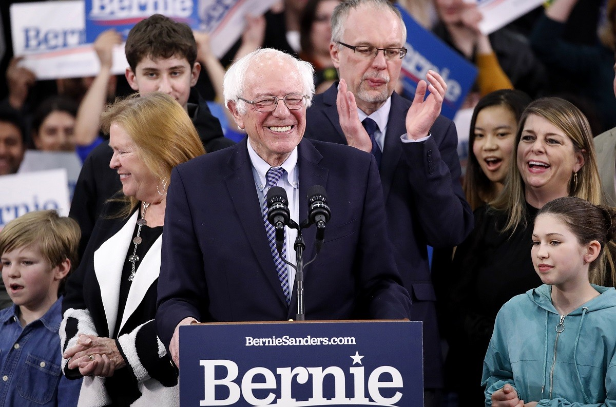 2020 US President Democrat Nomination Odds Bernie Sanders Mayor Pete