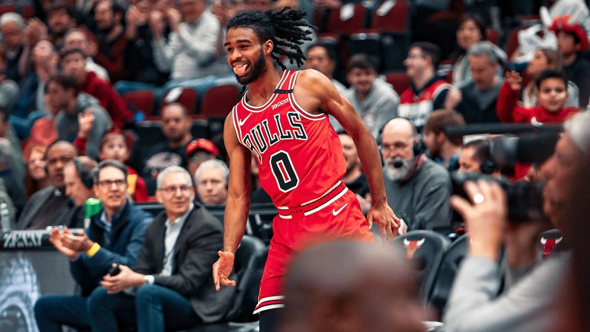 Hot rookie Coby White Chicago Bulls