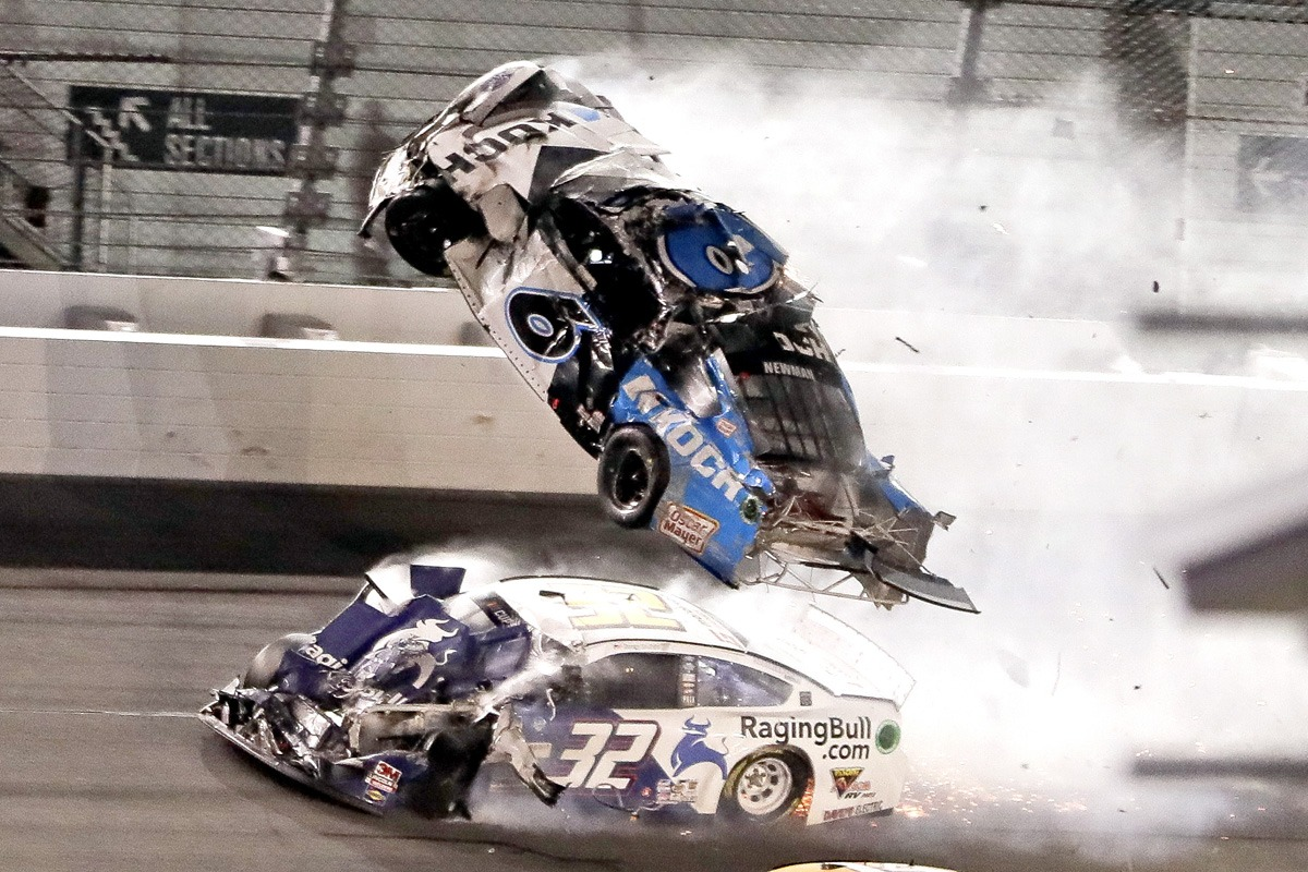 Danny Hamlin Daytona 500 Newman