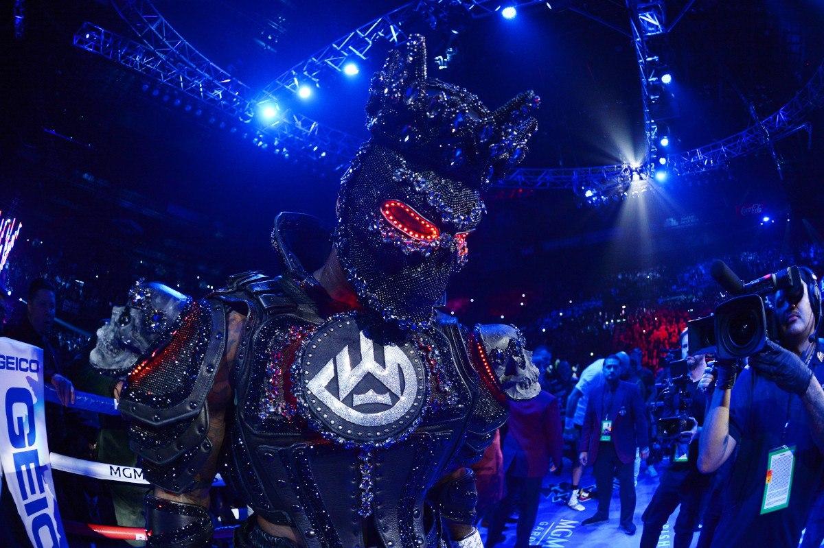 Wilder Fury Rematch costume