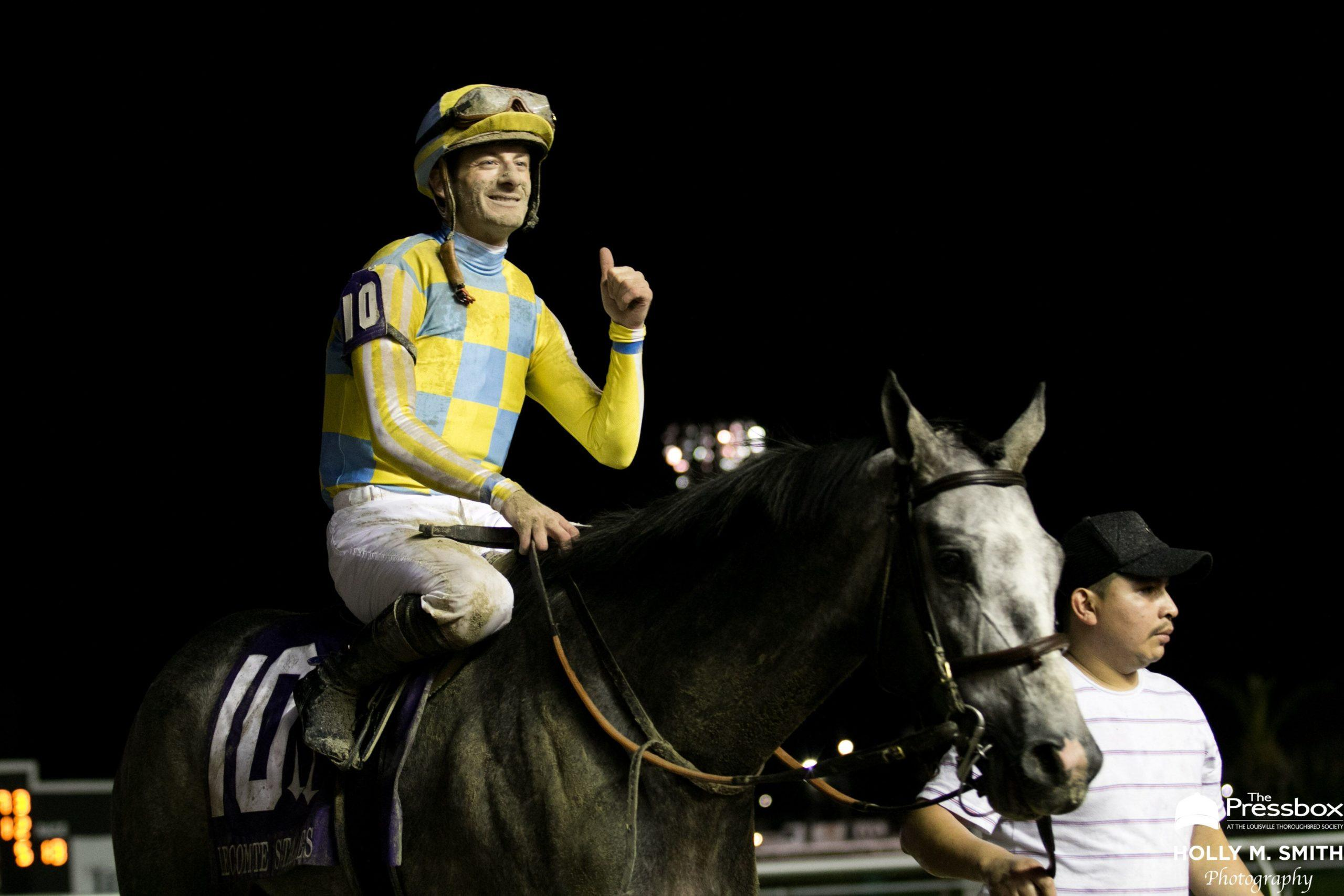 Julien Leparoux, ready to chase Derby points at Risen Star