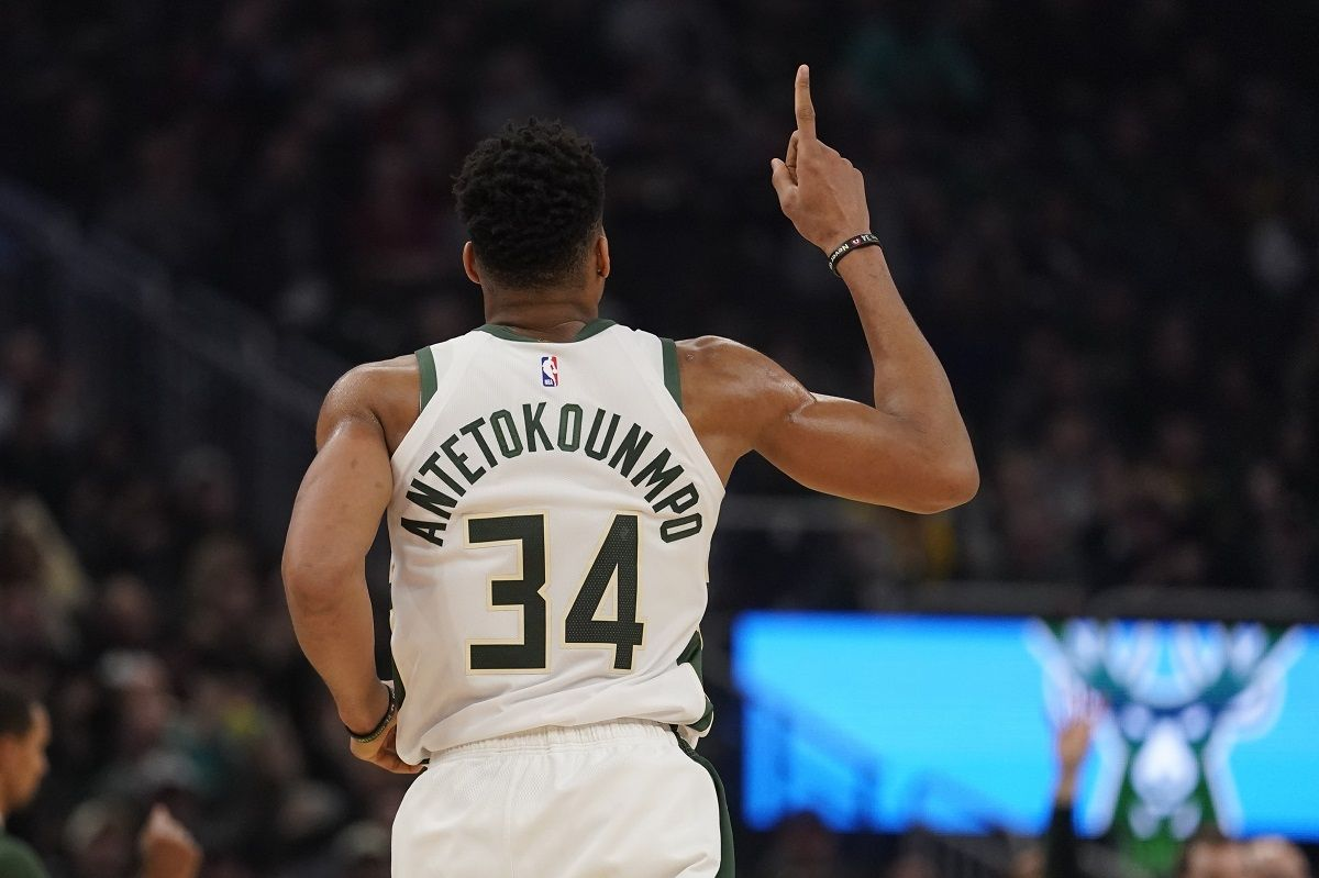 Greek Freak Milwaukee Bucks NBA Championship title odds favorites 2020
